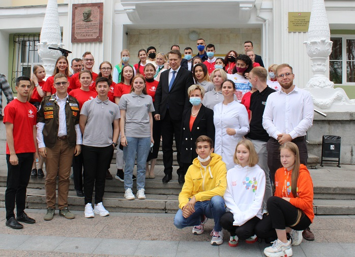 Министр здравоохранения России Михаил Мурашко встретился со студентами вузов Екатеринбурга